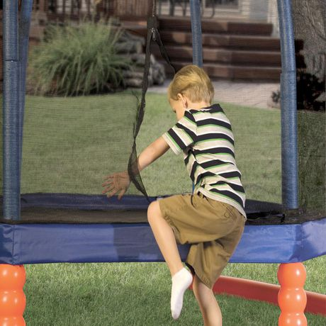 Little Tikes 7' Trampoline with Safety Enclosure - image 3 of 3
