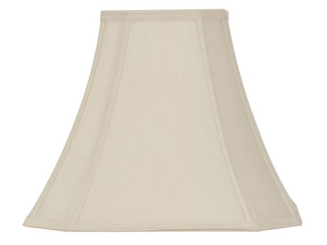 Hometrends 13in Ivory Cut-Corner Lamp Shade - image 1 of 1