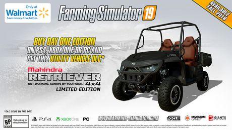 Farming Simulator 19 Day One Edition [PS4] - image 2 de 4