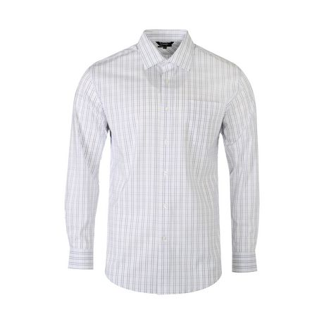 f8265076 George Men's Wrinkle Resistant Dress Shirt | Walmart Canada