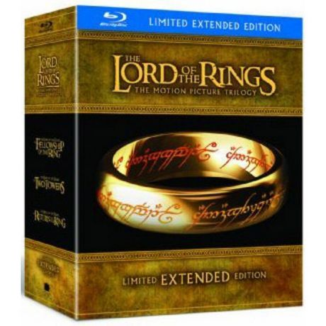 Alliance Films The Lord Of The Rings: The Motion Picture Trilogy (Limited Extended Edition) (Blu-Ray) (Bilingual) Yes