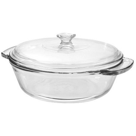 anchor hocking 2 qt glass casserole with lid | walmart canada