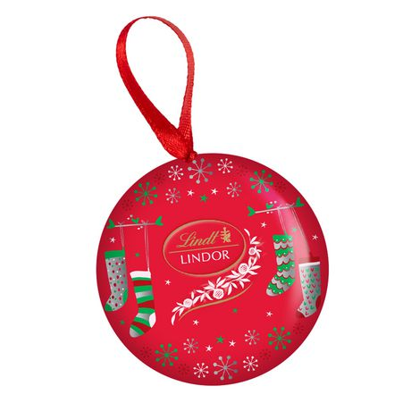 Lindt Lindor Christmas Ornament Tin Milk Walmart Canada