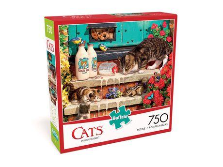 Buffalo Games Cats Le puzzle Doorstep Raiders en 750 pièces - image 3 de 3