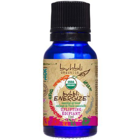 Buhbli Organics Energize Essential Oil Blend - image 1 of 2