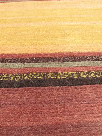 "eCarpetGallery Hand Knot Aurora Copper Brown Wool Rug 8'0""x11'0"" - image 2 of 4"