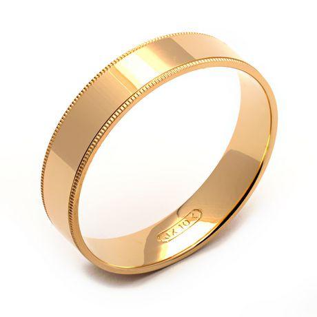 rex rings s 10 kt yellow gold wedding band walmart