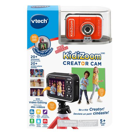 VTech KidiZoom Creator Cam Kids' Digital Camera Bilingual - image 4 of 9
