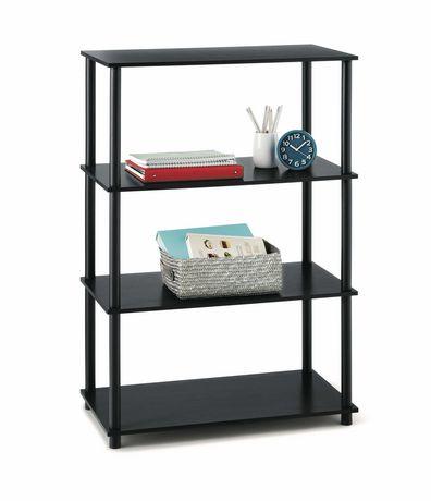 Attrayant Mainstays 4 Shelf Storage Shelving Unit