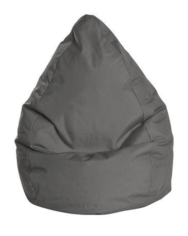 sitting point bean bag brava grey. Black Bedroom Furniture Sets. Home Design Ideas