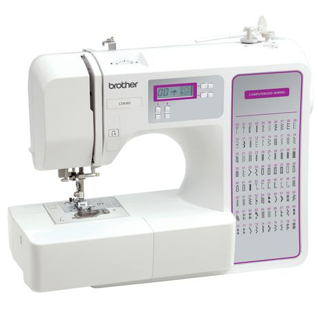 brother ce8080 computerized sewing machine. Black Bedroom Furniture Sets. Home Design Ideas