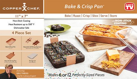 Copper Chef Bake Amp Crisp Pan Walmart Canada