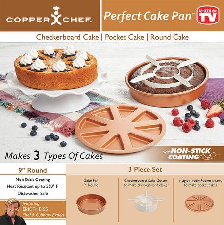 moule g teau perfect cake pan de copper chef walmart canada. Black Bedroom Furniture Sets. Home Design Ideas