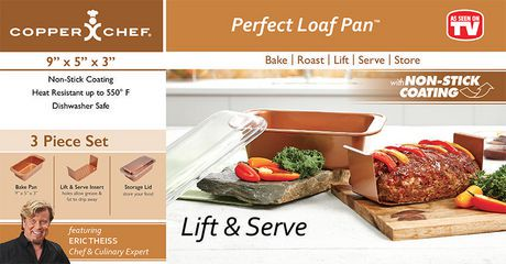 moule pain perfect loaf pan de copper chef walmart canada. Black Bedroom Furniture Sets. Home Design Ideas
