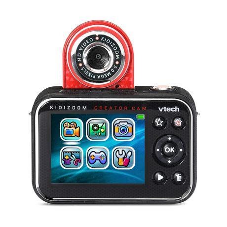 VTech KidiZoom Creator Cam Kids' Digital Camera Bilingual - image 5 of 9