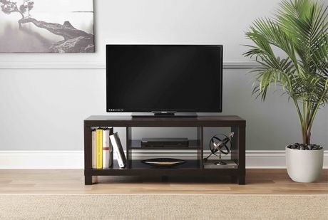 hometrends Espresso Hollow Core TV Stand - image 2 of 3