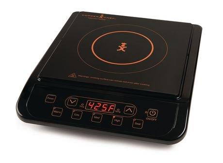 induction pour cuisson copper chef avec pr cision en noir walmart canada. Black Bedroom Furniture Sets. Home Design Ideas