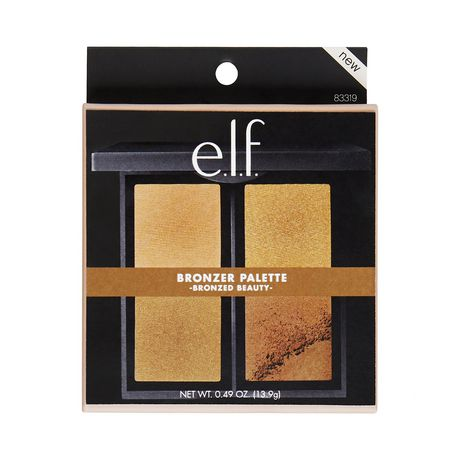 e.l.f. Cosmetics Bronzer Palette, Bronzed Beauty - image 4 of 4