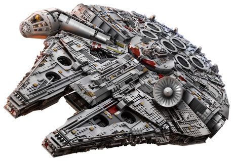 LEGO Star Wars Millennium Falcon 75192 Toy Building Kit (7541 Pieces) - image 4 of 6