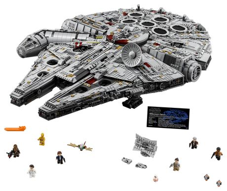 LEGO Star Wars Millennium Falcon 75192 Toy Building Kit (7541 Pieces) - image 3 of 6