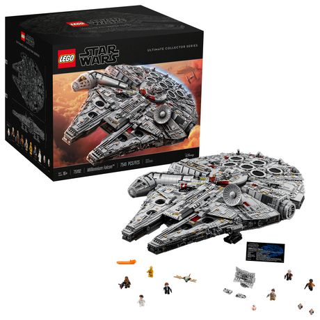 LEGO Star Wars Millennium Falcon 75192 Toy Building Kit (7541 Pieces) - image 1 of 6