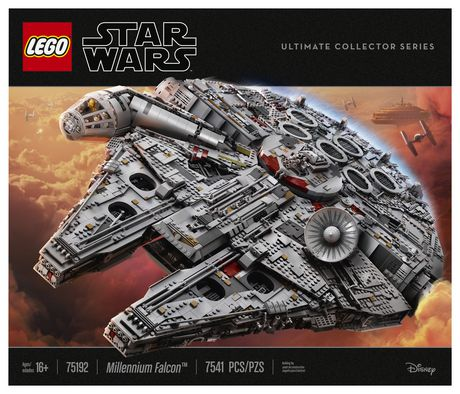 LEGO Star Wars Millennium Falcon 75192 Toy Building Kit (7541 Pieces) - image 5 of 6