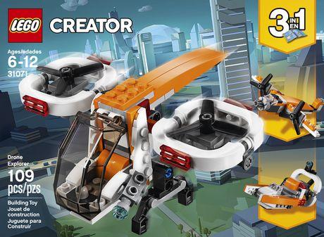 LEGO Creator 3in1 Drone Explorer 31071 Building Kit (109 Piece) - image 5 of 6