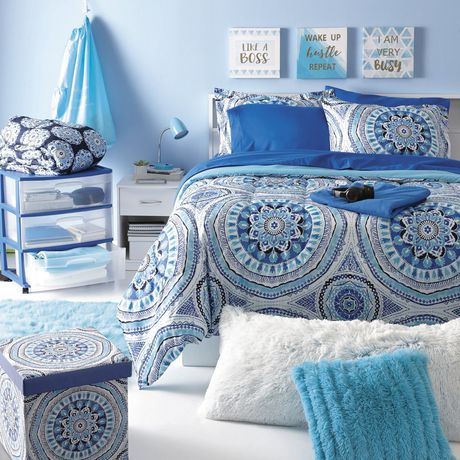 Grey Label Red Label Medallion Bed In A Bag Walmart Canada