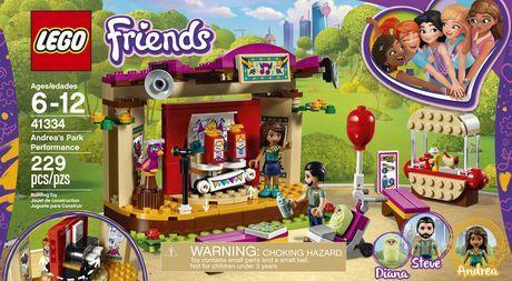 Lego Friends Andreas Park Performance 41334 Walmart Canada
