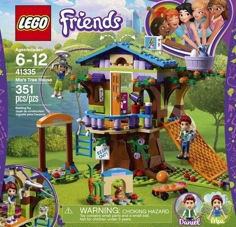 Lego Friends Mias Tree House 41335 Building Set 351 Piece