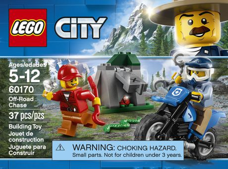 Lego City Police Off Road Chase 60170 Walmart Canada