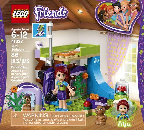 Lego Friends Mias Bedroom 41327 Walmart Canada