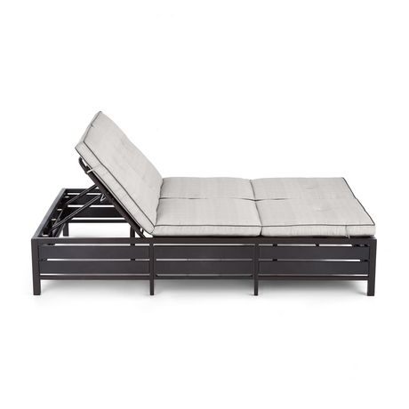 hometrends Venice Double Lounger - image 5 of 8