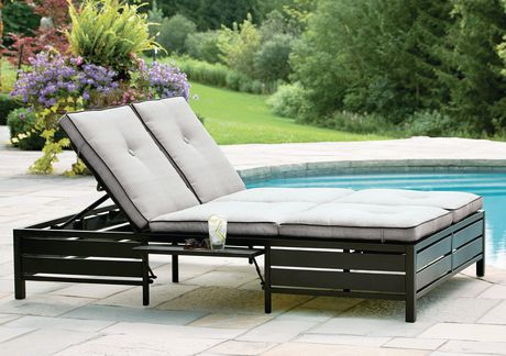 hometrends Venice Double Lounger - image 1 of 8