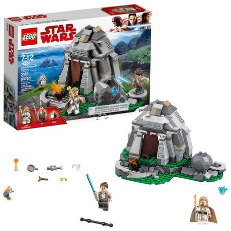 7d08b5719a3c LEGO Star Wars: The Last Jedi Ahch-To Island Training 75200 Building Kit ...