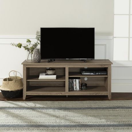 we furniture wood tv stand for tv s up to 60 multiple colors