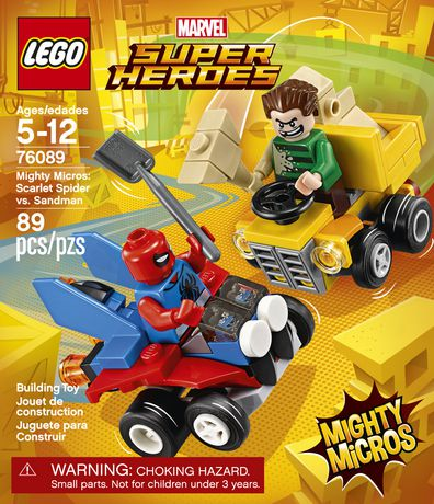 Super Heroes Man MicrosSpider Contre Sandma76089 Mighty bf76IYyvg