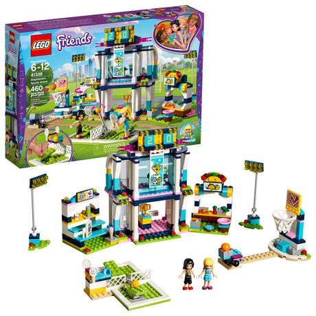 Set460 Friends 41338 Piece Lego Stephanie's Sports Arena Building 0wmOnP8yvN