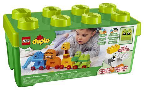 DUPLO My First - Ma première boîte de briques d'animaux (10863) - image 6 de 6