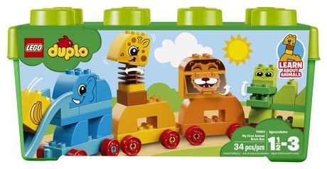 DUPLO My First - Ma première boîte de briques d'animaux (10863) - image 5 de 6