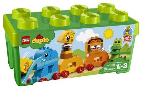 DUPLO My First - Ma première boîte de briques d'animaux (10863) - image 2 de 6