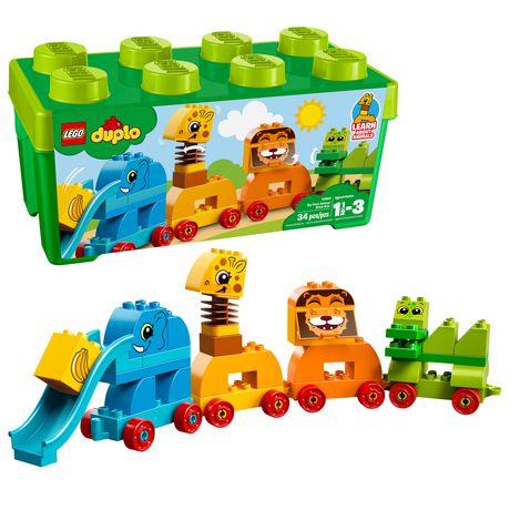 DUPLO My First - Ma première boîte de briques d'animaux (10863) - image 1 de 6