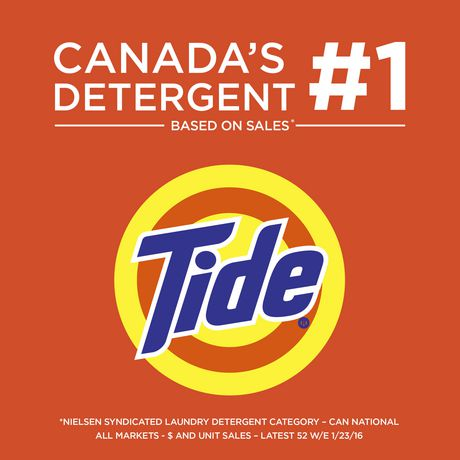 Tide High Efficiency Coldwater Free Liquid Laundry Detergent 2.04L ...