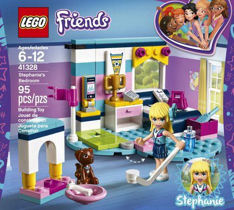 Lego Friends Stephanie S Bedroom 41328 Walmart Canada