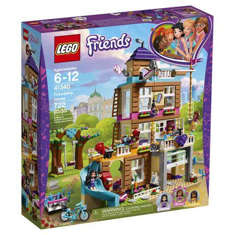 LEGO Friends Friendship House 41340 Building Set (722 Piece) - image 2 of 6