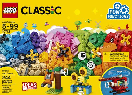 LEGO Classic Bricks and Gears 10712 Building Kit (244 Piece) - image 5 of 6