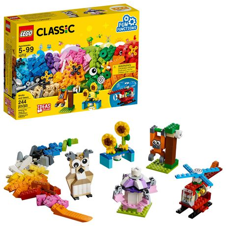 LEGO Classic Bricks and Gears 10712 Building Kit (244 Piece) - image 1 of 6