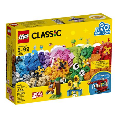 LEGO Classic Bricks and Gears 10712 Building Kit (244 Piece) - image 2 of 6