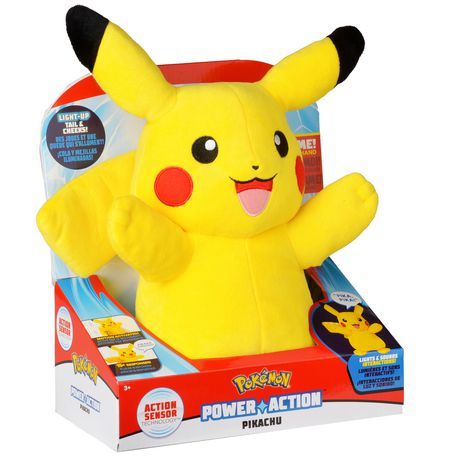 Pokémon Power Action Interactive Plush Pikachu - image 1 of 8
