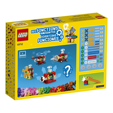 LEGO Classic Bricks and Gears 10712 Building Kit (244 Piece) - image 6 of 6